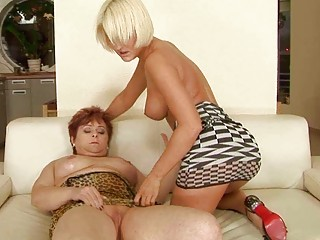 heavy granmda vs wonderful inexperienced albino