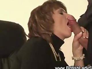 classy lady sophia gets a cumshot
