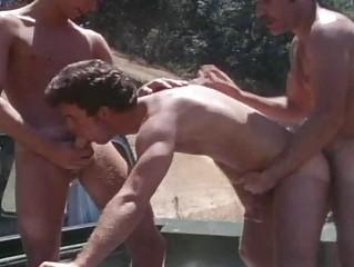 vintage older  fuckers banging openair