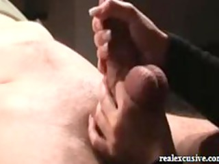 handjob from belgium, starring my wife