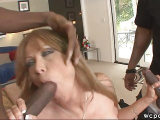 mixed woman dp ass