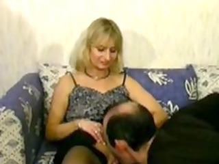 blond grownup cheats on her man