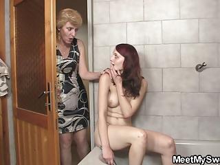 his milf sucks her prostitute later daddy